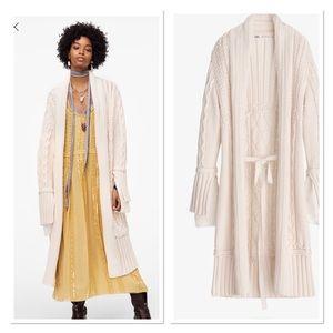 Zara limited edition cardigan NWT